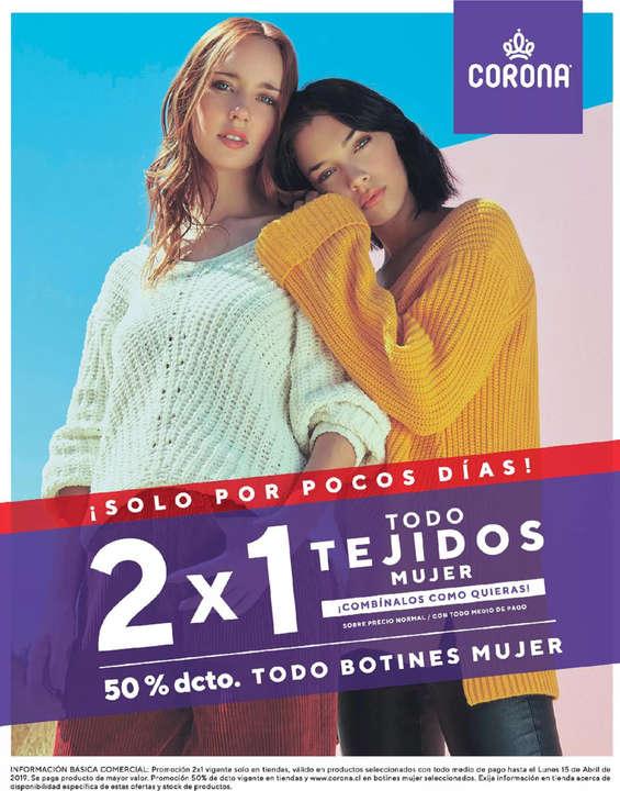 a2a24e6255e Tiendas donde comprar Botín mujer en Maipú. Se han encontrado 39 catálogos  con ofertas. Ofertas de Corona