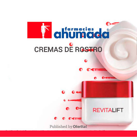 Ofertas de Farmacias Ahumada, Cremas De Rostro