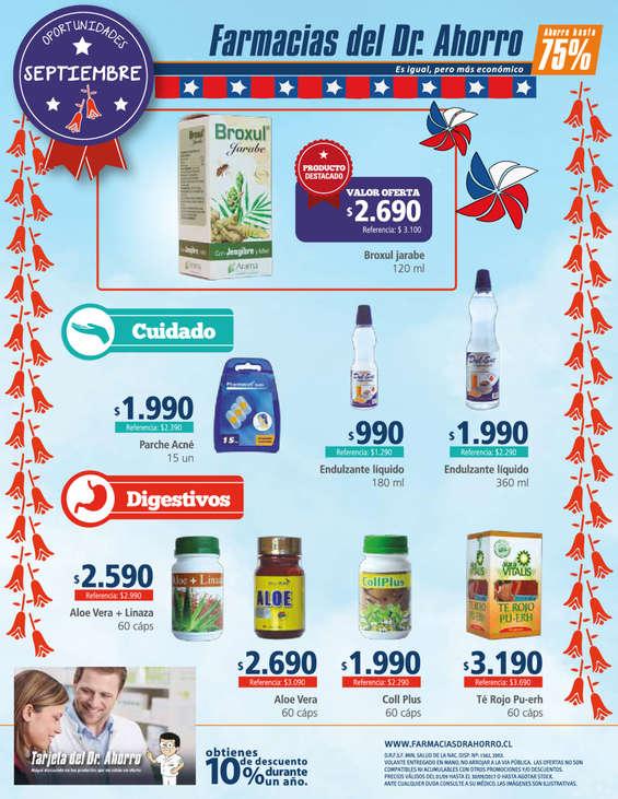 Ofertas de Farmacias del Dr.Ahorro, OPORTUNIDADES SEPTIEMBRES