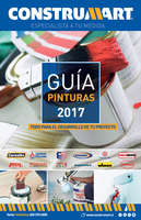 Ofertas de Construmart, Guía Pinturas 2017