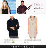 Ofertas de Perry Ellis, back to work