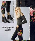 Ofertas de Americanino, Jeans Bordados