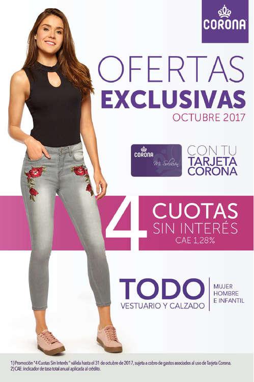 Ofertas de Corona, ofertas exclusivas octubre