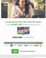Ofertas de Banco Falabella, Avance CMR