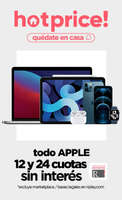 Ofertas de Ripley, Todo Apple a cuotas sin interés