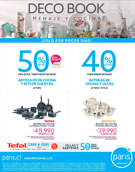 Ofertas de Paris, Deco Book