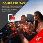 Ofertas de Virgin Mobile, Comparte más