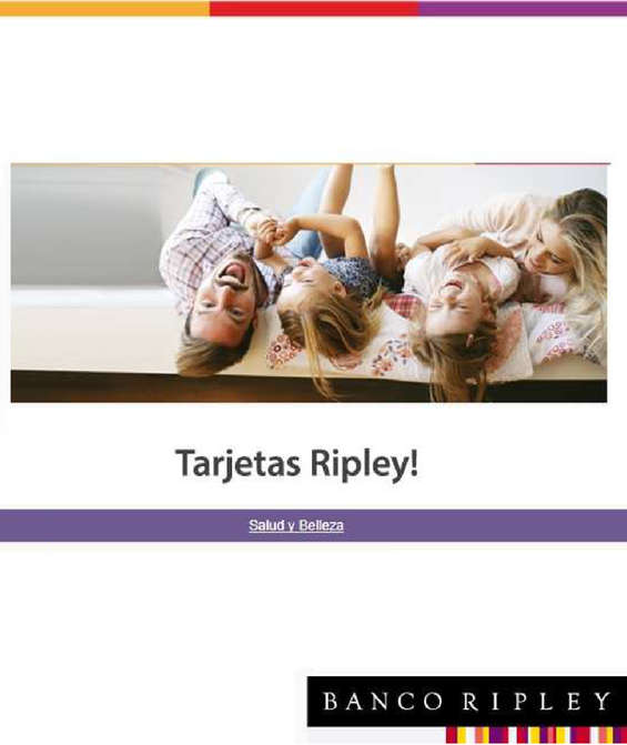 Ofertas de Banco Ripley, beneficios salud y belleza