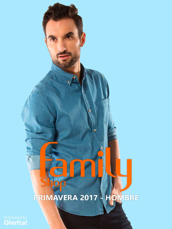 Ofertas de Family Shop, Primavera 2017 Hombre