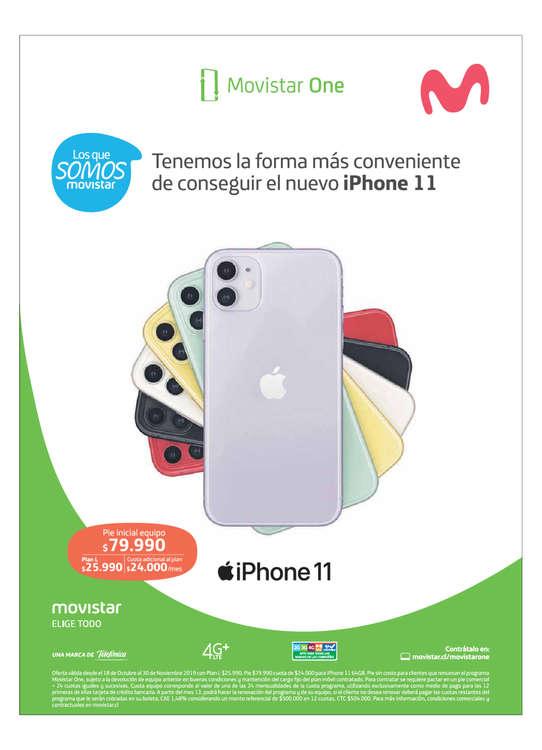 Ofertas de Movistar, iPhone11