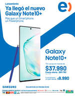Ofertas de Entel, Galaxy Note 10|10+