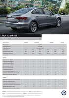 Ofertas de Volkswagen, Nuevo Virtus