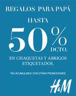 Ofertas de H&M, Regalos Para Papá