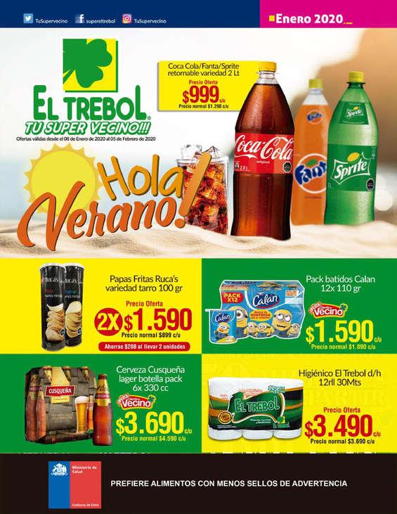 Ofertas de Supermercado El Trébol, Hola Verano!