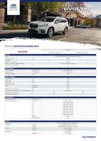 Ofertas de Subaru, Evoltis 2021
