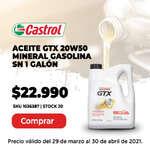 Ofertas de Autoplanet, Aceite GTX