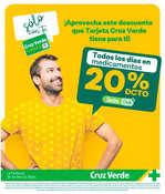 Ofertas de Cruz Verde, Sólo Con Tu Tarjeta Cruz Verde