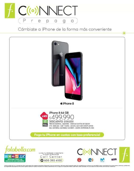 Ofertas de Falabella, Connect Prepago