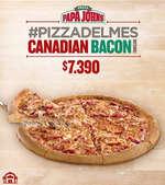 Ofertas de Papa John's, Pizza del mes