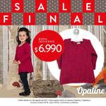 Ofertas de Opaline, Sale Final