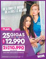 Ofertas de WOM, Plan
